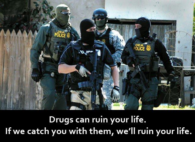 DEA police will ruin your life