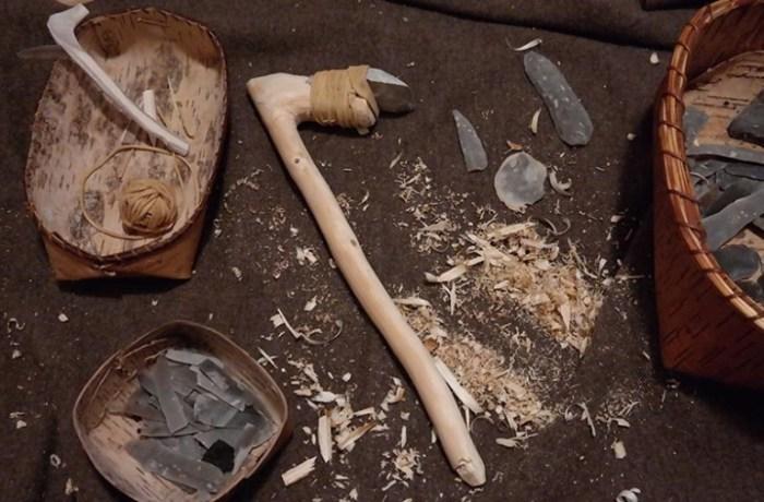Steinzeitwerkstatt