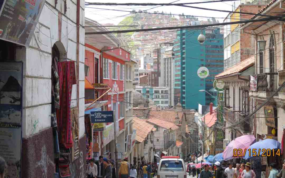 La Paz Bolivia. The Canyon City, and a little bit of Altitude