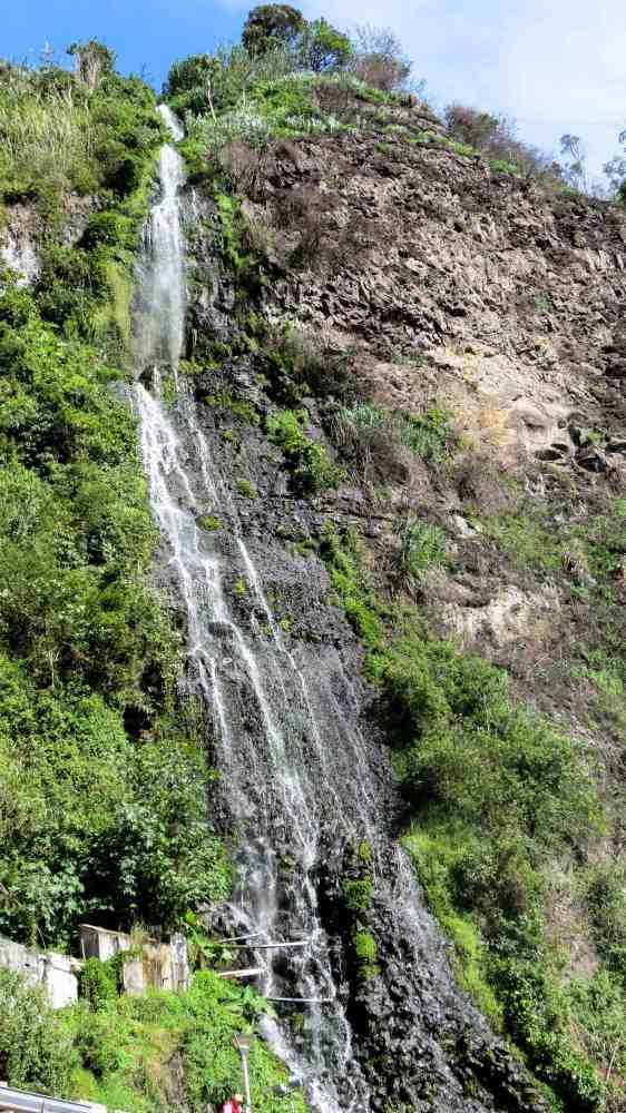 Baños Waterfall tour