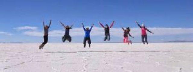 wide salt plains boliva