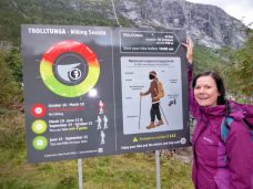 Saftey notice Trolltunga Norway