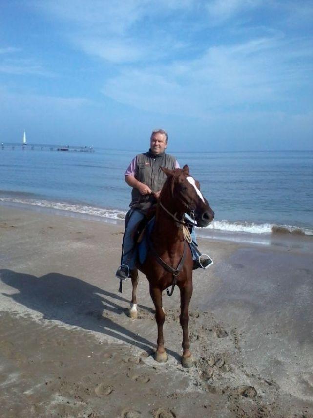 Giovani Horse riding Lake Garda