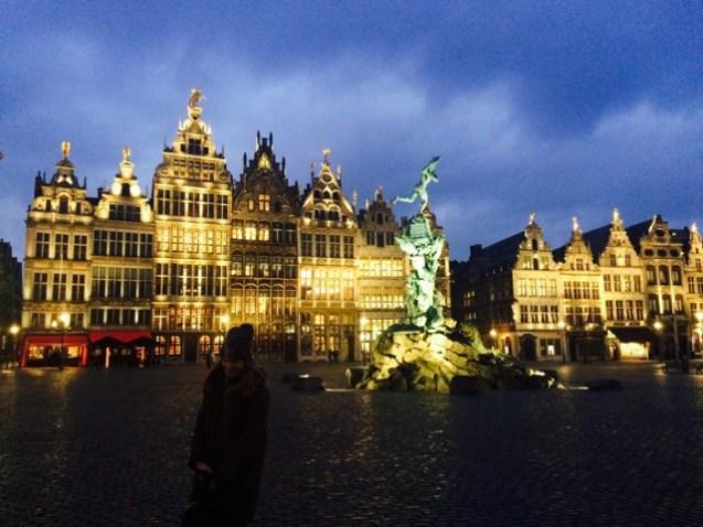 Old town Antwerp