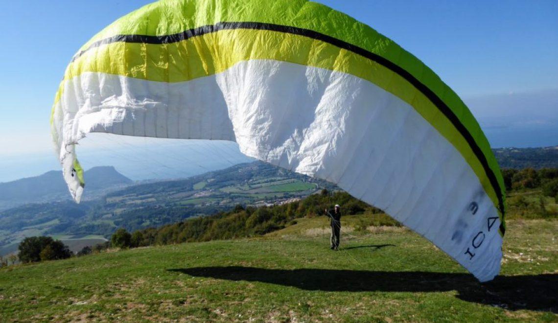 Paragliding Lake Garda Italy