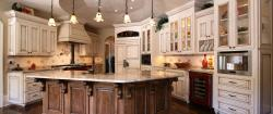 Arresting French Country Style Project Walker Woodworking Cabinetry French Country Project Walker Rustic French Country Kitchen Island French Country Kitchen Island Pendants