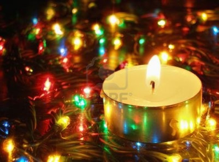 Christmas Garland Lights. Shortest Night Of The Year. View Original