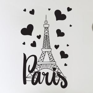 Paris France wall stickers