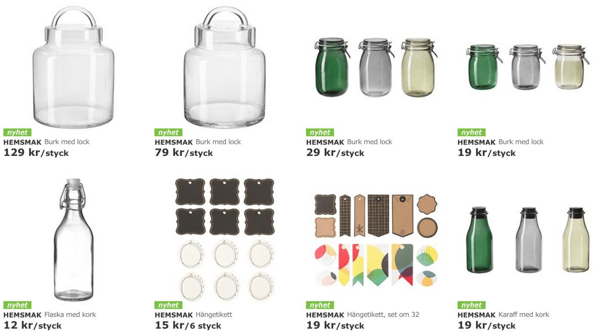HEMSMAK - ny kollektion på IKEA