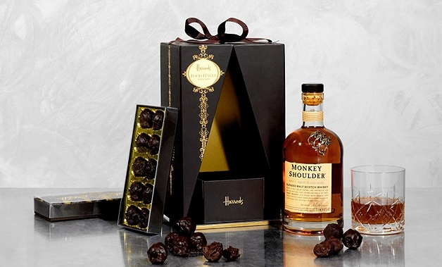 whiskey chocolate hamper