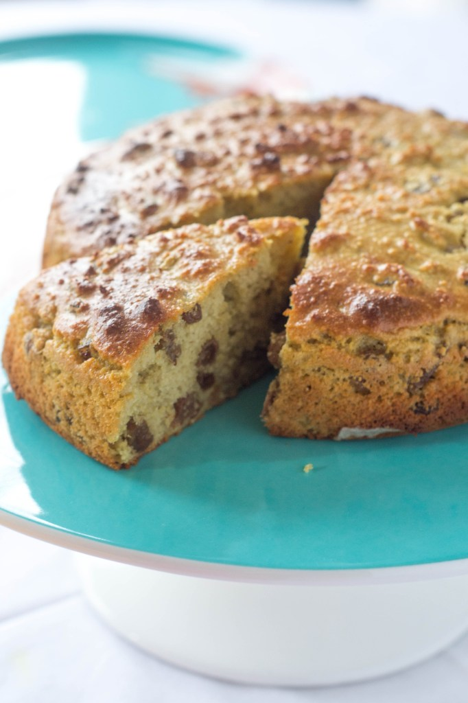 Cake that's healthy enough for breakfast! Cinnamon Chai Fruit Cake {Gluten-free, Dairy-free}