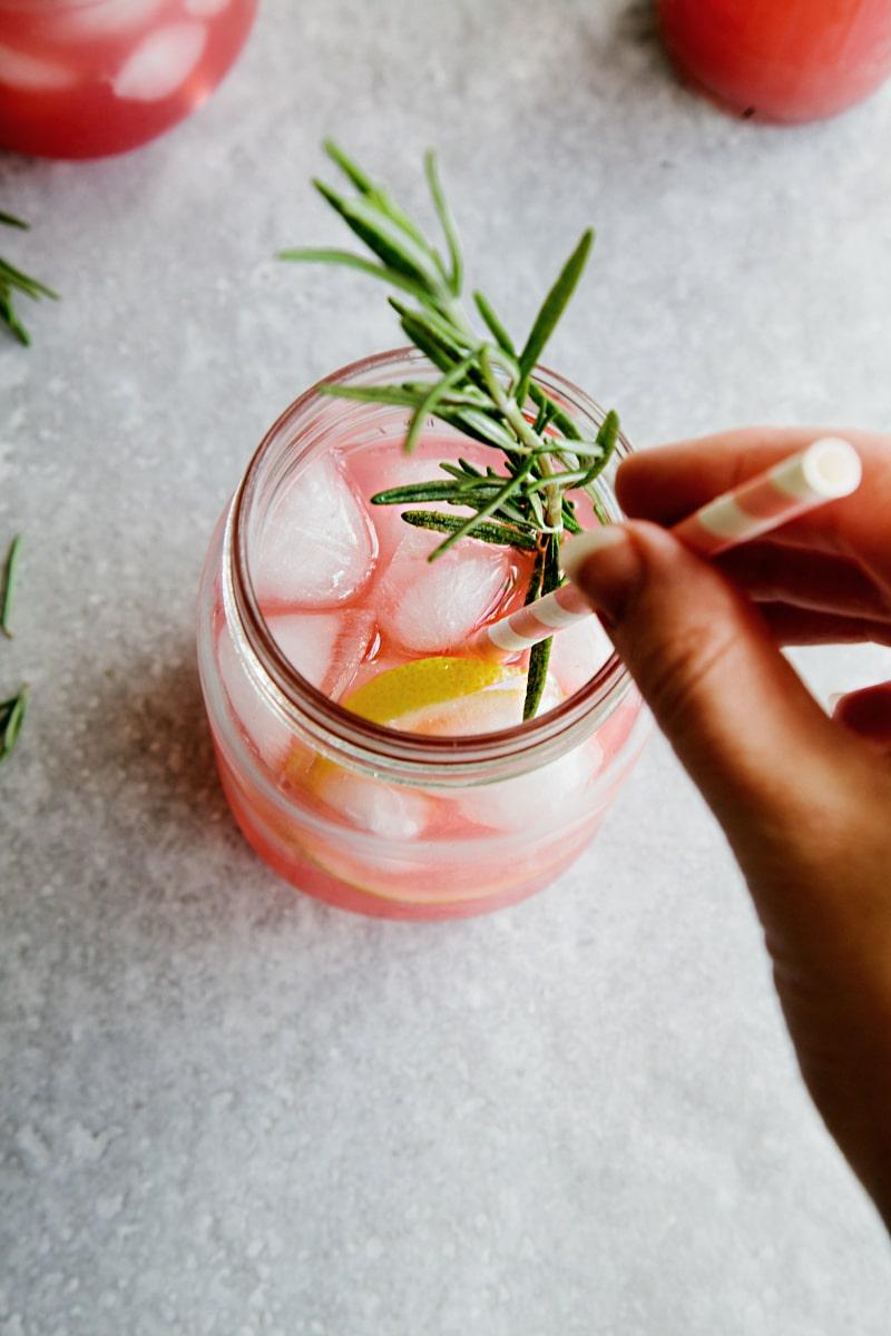 Galvanina Grapefruit & Rosemary Gin Cocktail