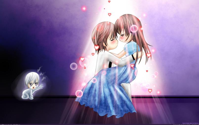 Cute Couple Hd Wallpaper Cartoon Babangrichie Org