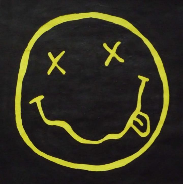 Nirvana Logo Wallpaper Hd Iphone Amatwallpaper Org