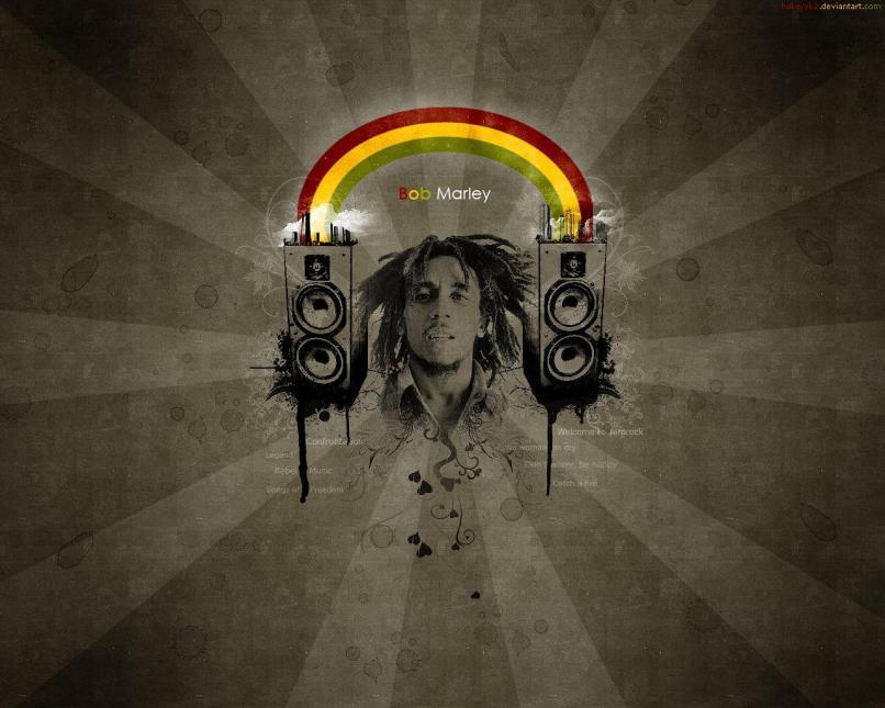 Bob Marley Cartoon Wallpaper Simplexpict1storg
