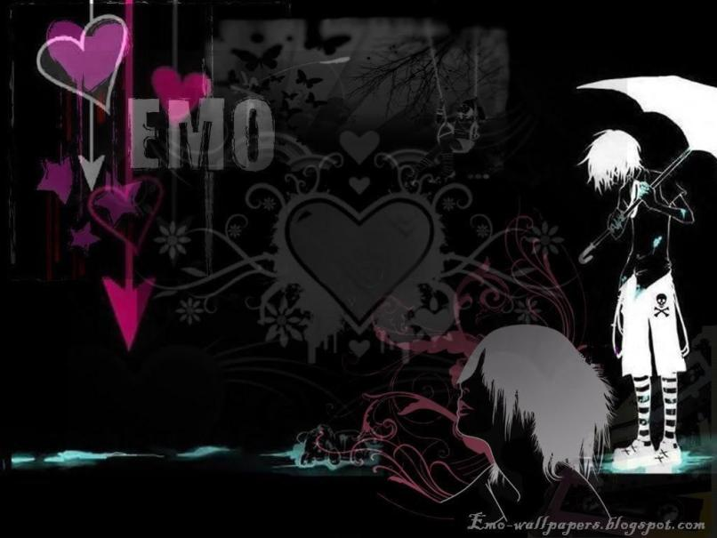 Cute Emo Wallpapers For Desktop Floweryred2 Com