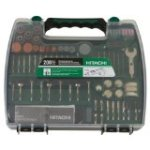 Discount:  Hitachi 115005 Rotary Tool Accessory Kit, 200-Piece