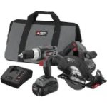Discount:  PORTER-CABLE PC218C-2 18-Volt NiCad Cordless 2-Tool Combo Kit