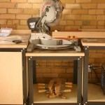 Rockler's Steel Shop Stand | Power Miter Saw Station