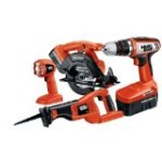 Reviewing:  Black & Decker CD418C-2 18-Volt 4-Tool Combo Kit