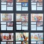 Full set of 9 x A3 panels