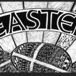 Easter Scaperboard Landscape format
