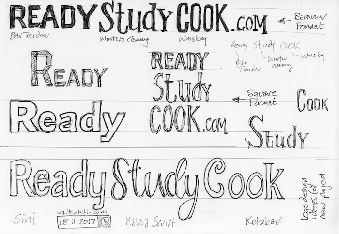 Logo designs (ReadyStudyCook)