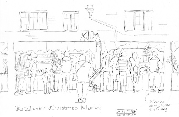 Christmas Market, Redbourn, Hertfordshire