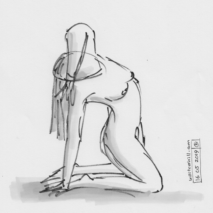 Covent Garden Life Drawing #242