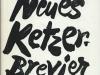 Neues Ketzerbrevier - Balladen und Songs (1962)