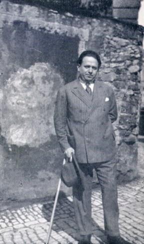 Kurt Tucholsky in Paris 1928. Quelle: Wikipedia