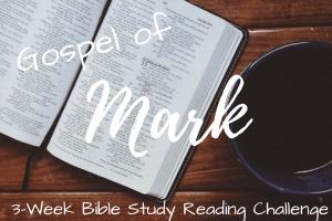 Following Jesus 101: Gospel of Mark – 3 Week Bible Study Reading Challenge Intro & FREE Stuff :)