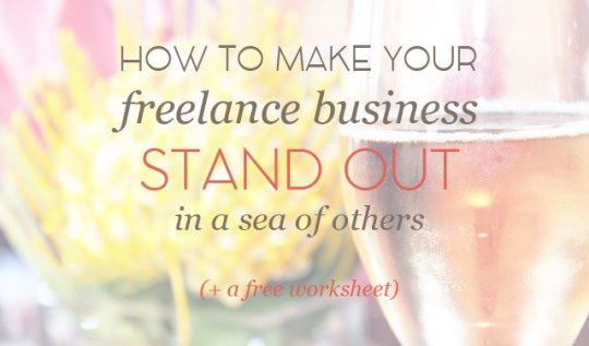 Make your freelance business stand out