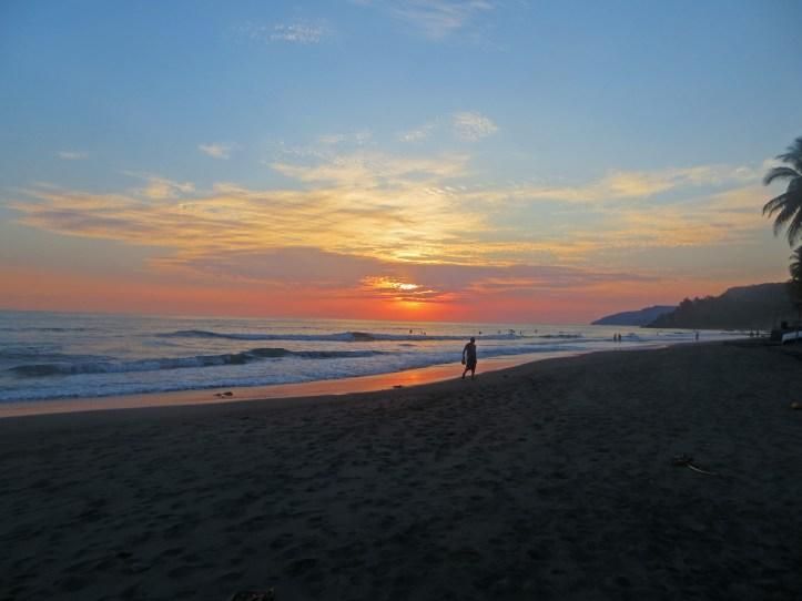 Sunset el zonte, El salvador february