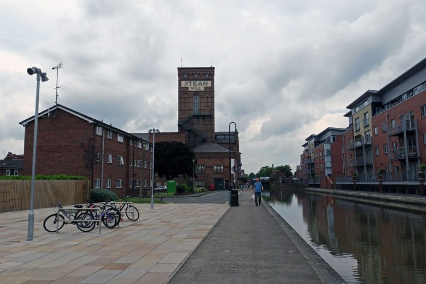 Chester canal steam mill travel closer to home