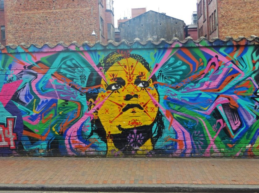 Bogota Street Art Stinkfish