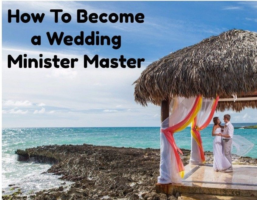 How to become a wedding minister
