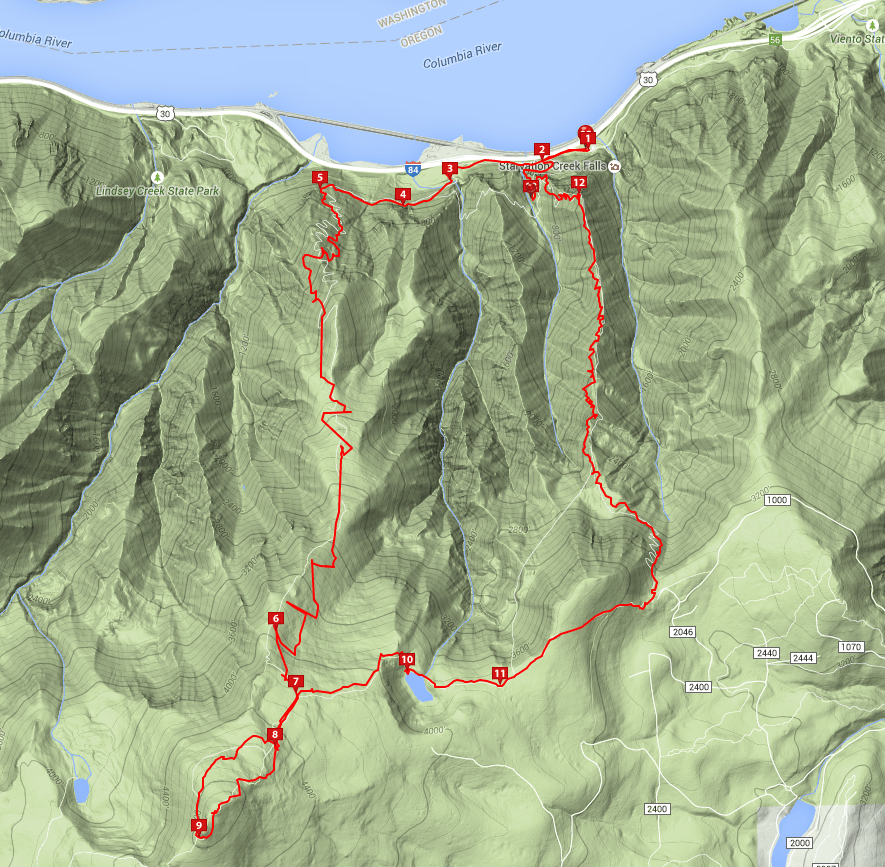Courtesy of Everytrail.com. Click map for higher detail.