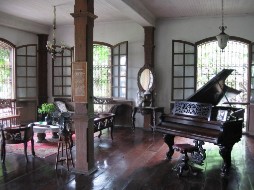 interiors of one of the mansions