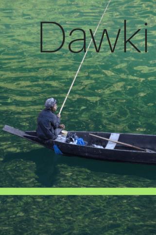 Dawki river umngot in Meghalaya, India