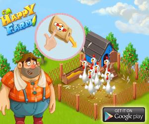 Happy Farm:Candy Day - ферма для андроид