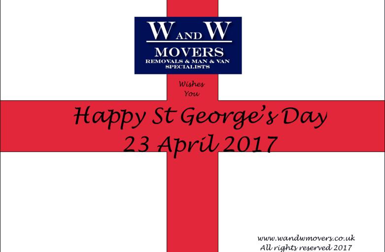 wandwmovers happy st george's day
