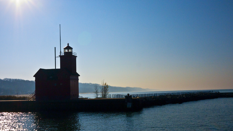 The Big Red Lighthouse