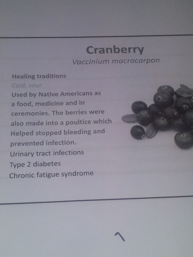 Cranberry Facts