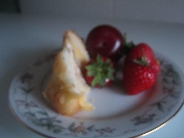 Mindful Dessert- Katie Sheen's Tip. Add a serving of Fruit.