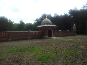 I come across History, First Muslim Burial Ground.