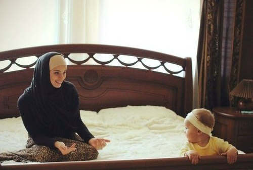 Muslim Mother Daughter