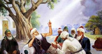 baba farid with murideen