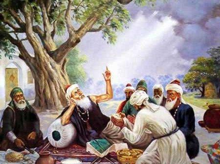 baba farid with murideen