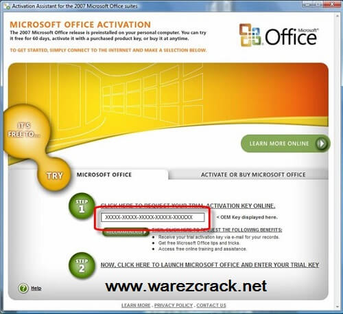 i have office 2007 product key how to download